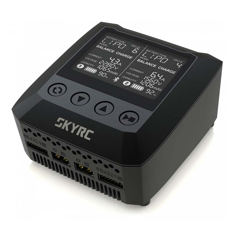 SkyRC B6 Nano Duo, AC Dual Charger, 100Wx2
