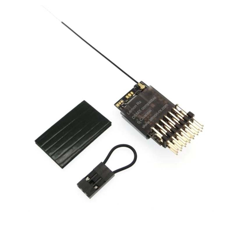 Lemon RX DSMX Compatible Full-Range 6-Channel Receiver, End-Pin LM0021S