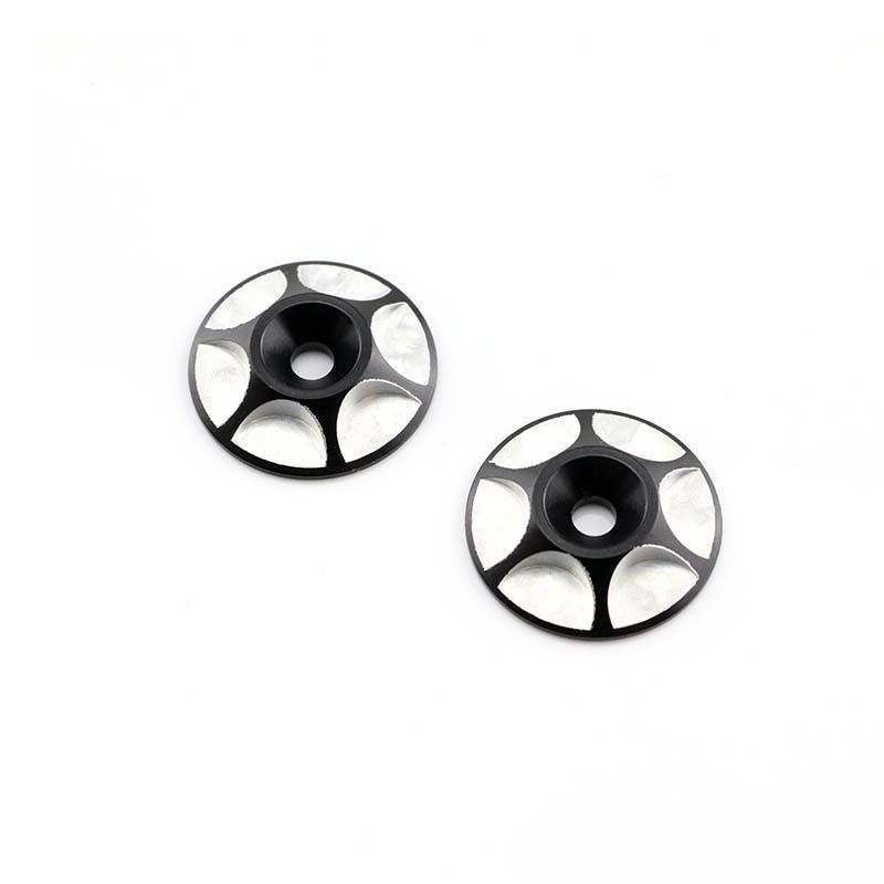 HobbyStar Wing Buttons, Black