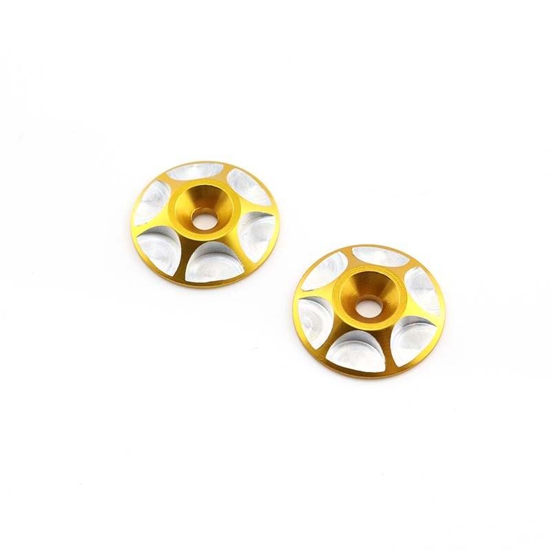 HobbyStar Wing Buttons, Gold