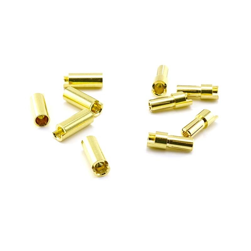 HobbyStar Bullet Connector Set 5.5mm/Gold, 5 Sets