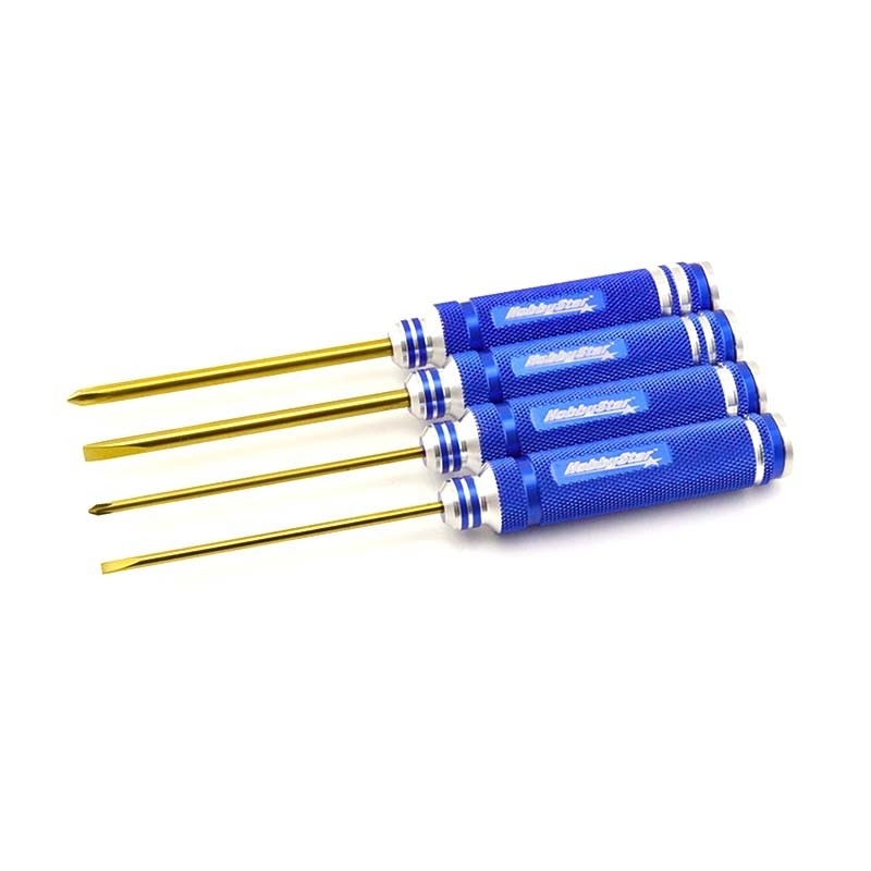 HobbyStar 4pc. Screwdriver Set, TiNi Coated