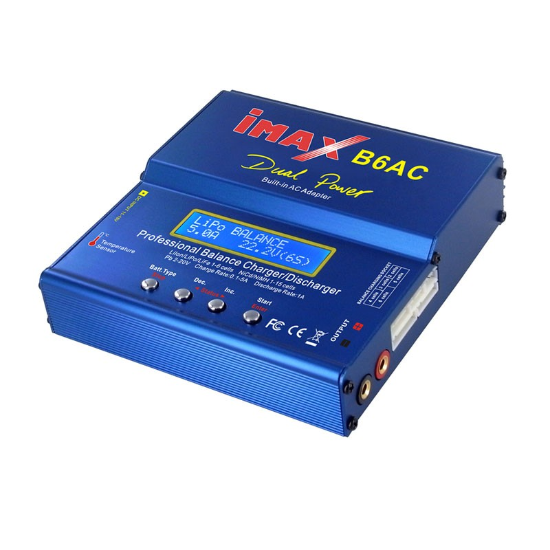 IMAX B6AC, 50W AC/DC Balance Charger