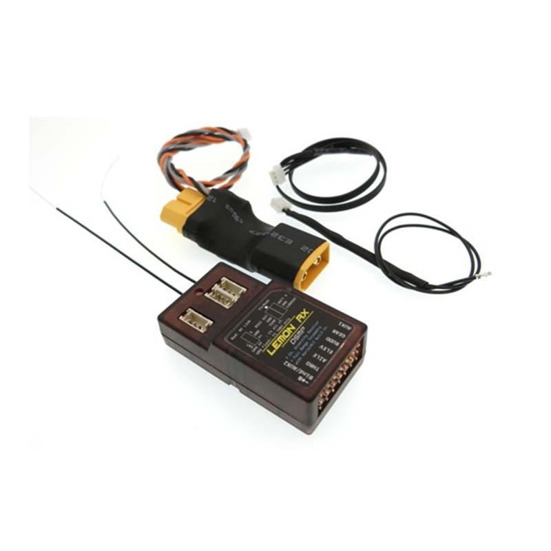 Lemon RX 7ch. Full-Range DSMX Telemetry System With Sensors LM0052, XT60