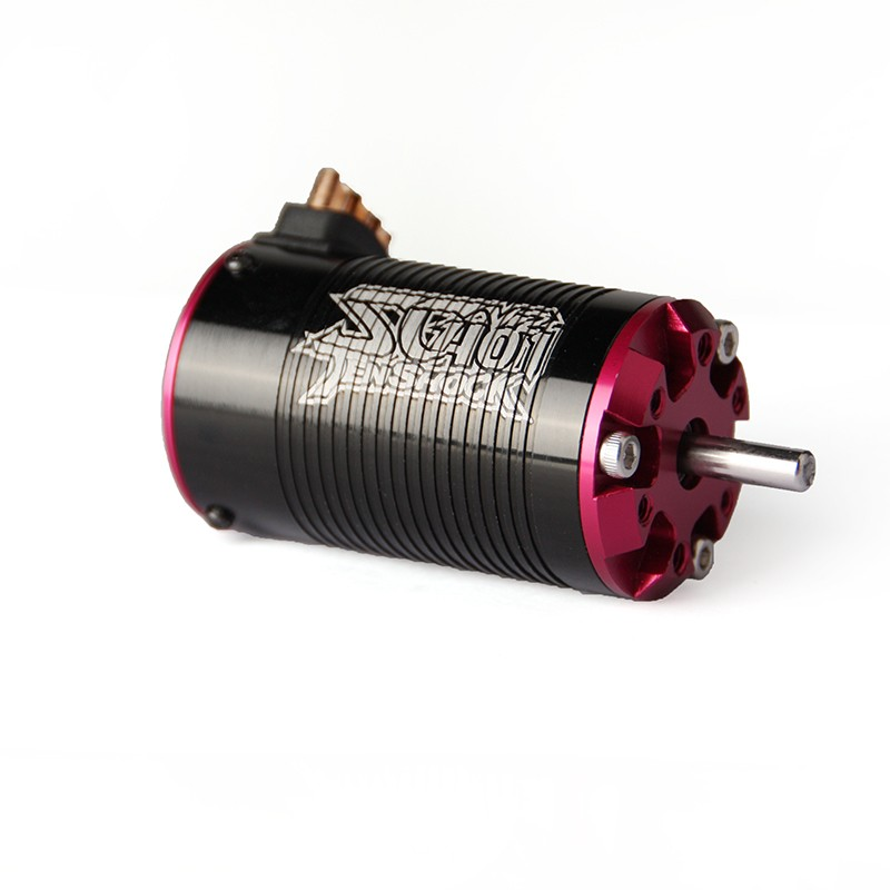 Tenshock SC401V2 Brushless Sensorless 4-Pole 1/10 Short Course Motor