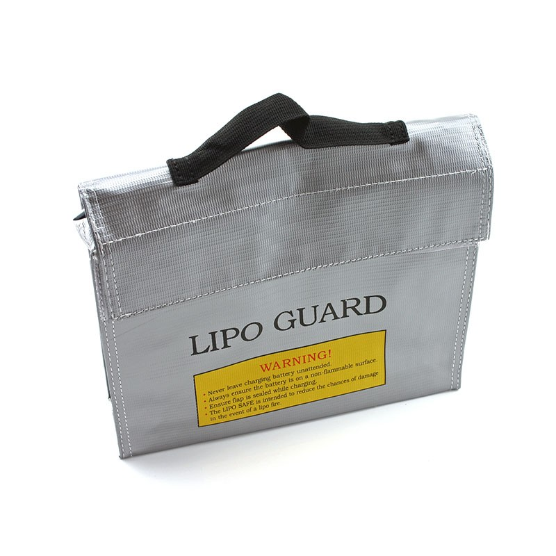 """Lipo Safe Charging Bag, """"Slim Suitcase"""" With Handle"""