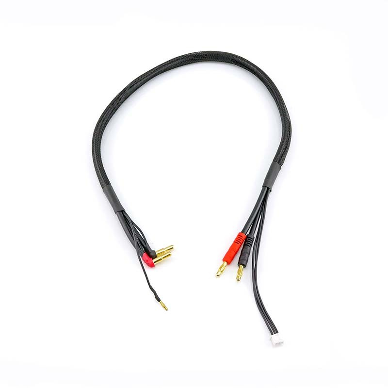 HobbyStar Starlink HD High-Current Charge/Balance Lead (4mm to 5mm Bullets)