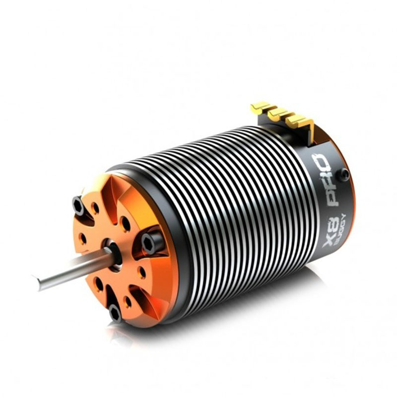 SkyRC Toro X8 PRO Brushless Sensored, 4-Pole Motor For 1/8 Buggy