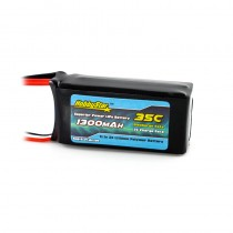 HobbyStar 1300mAh 11.1V, 3S 35C LiPo Battery