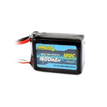 HobbyStar 1600mAh 14.8V, 4S 120C LiPo Battery