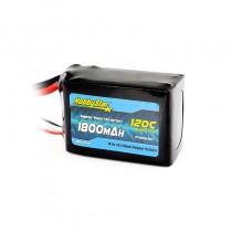 HobbyStar 1800mAh 14.8V, 4S 120C LiPo Battery
