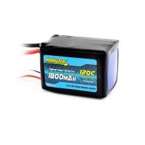 HobbyStar 1800mAh 22.2V, 6S 120C LiPo Battery