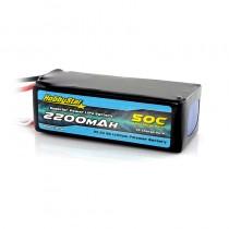 HobbyStar 2200mAh 22.2V, 6S 50C LiPo Battery