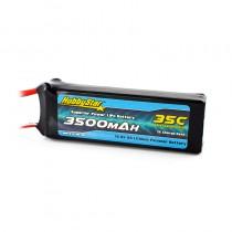 HobbyStar 3500mAh 14.8V, 4S 35C LiPo Battery
