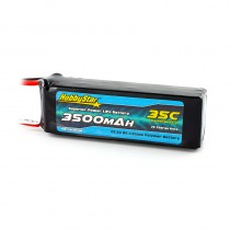 HobbyStar 3500mAh 22.2V, 6S 35C LiPo Battery