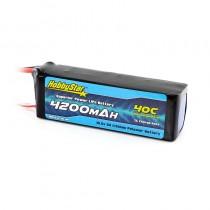 HobbyStar 4200mAh 18.5V, 5S 40C LiPo Battery