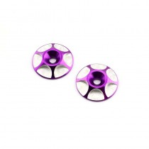 HobbyStar Wing Buttons, Purple