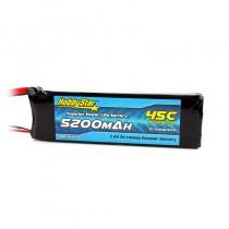 HobbyStar 5200mAh 7.4V, 2S 45C LiPo Battery