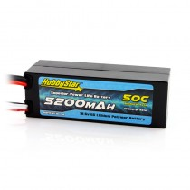 HobbyStar 5200mAh 18.5V, 5S 50C Hardcase LiPo Battery