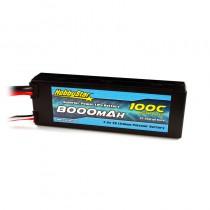 HobbyStar 8000mAh 7.4V, 2S 100C Hardcase LiPo Battery