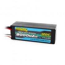 HobbyStar 8000mAh 14.8V, 4S 120C Hardcase LiPo Battery, Low IR
