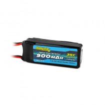 HobbyStar 900mAh 7.4V, 2S 35C LiPo Battery