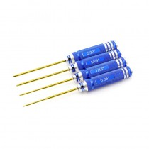 HobbyStar 4pc. Hex Driver Set, TiNi Coated, SAE