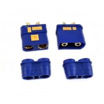 HobbyStar QS8-S Connector, HD Anti-Spark, 1 Set M/FM