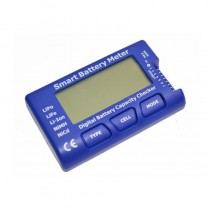 Smart Battery Meter, 5 in 1 Battery Tester, Balancer, Discharger and Servo/ESC/PPM Tester