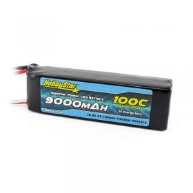 HobbyStar 9000mAh 14.8V, 4S 100C LiPo Battery