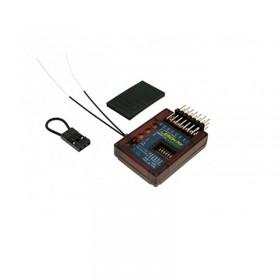Lemon RX DSMP/X Compatible 7-Channel Receiver With Stabilizer PLUS, Diversity (End-Pin) LM0044
