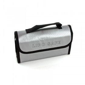 "Lipo Safe Charging Bag, ""Case"" Style, Medium With Handle"